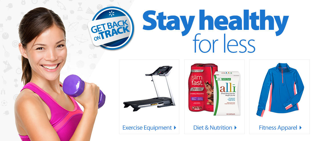 Get back on track. Stay healthy for less.