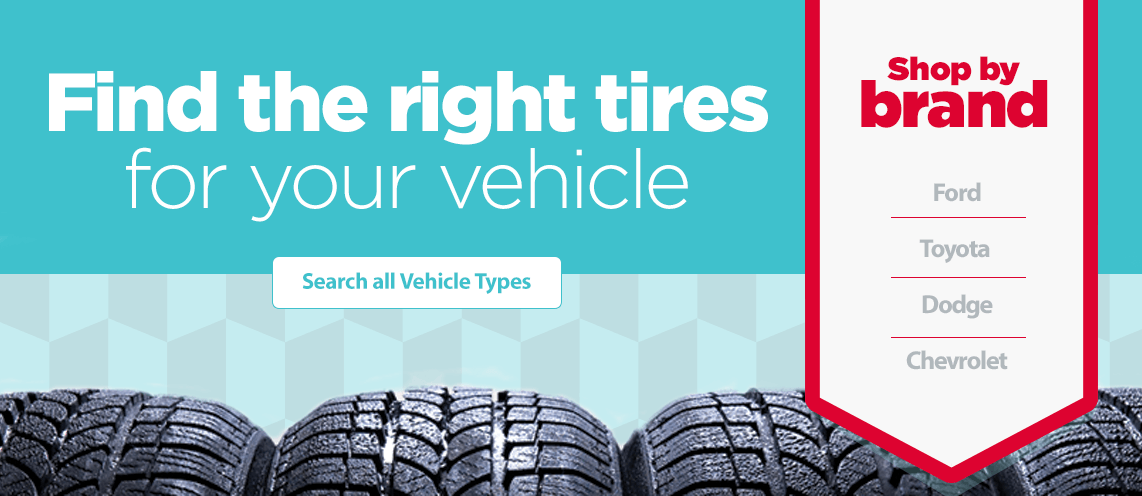 Find the right tires by brand