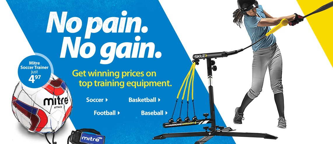 Get Winning Prices on Top Training Equipment