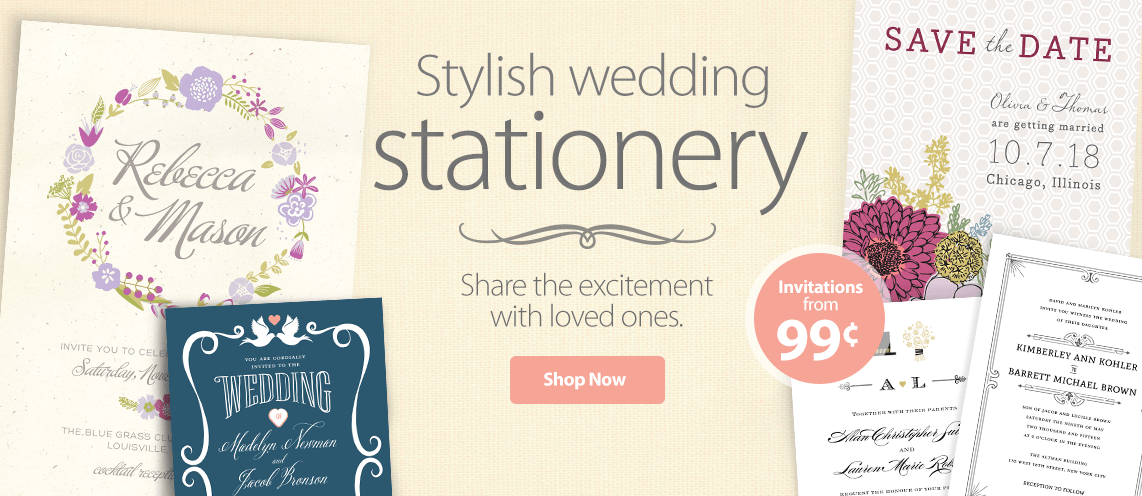 Wedding Gift Ideas Walmart : Shop Walmart Wedding Stationery