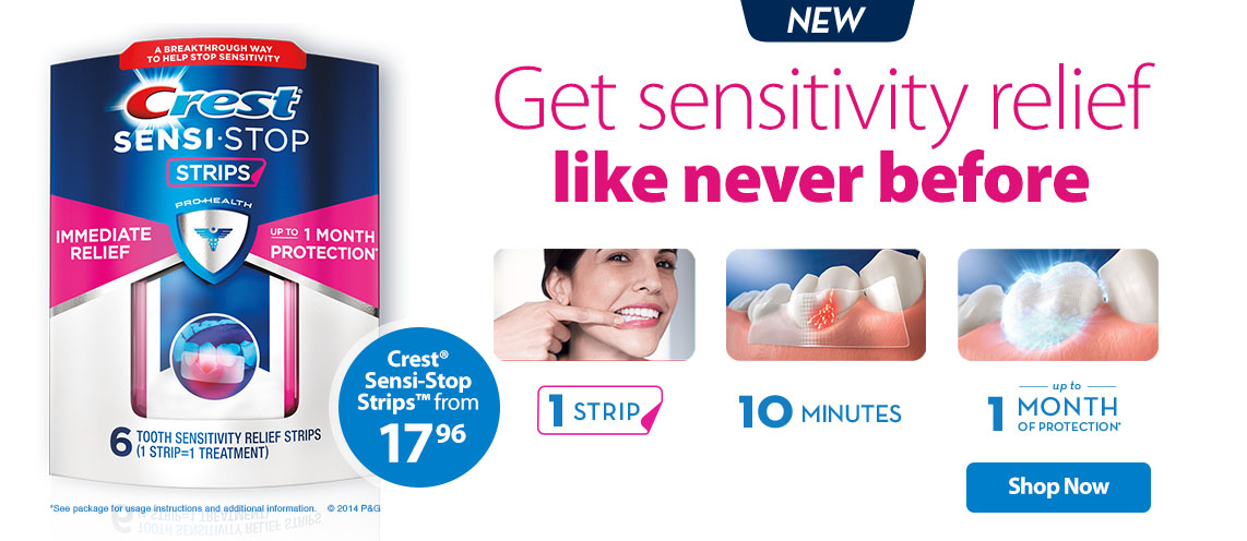 Crest Sensitive Teeth