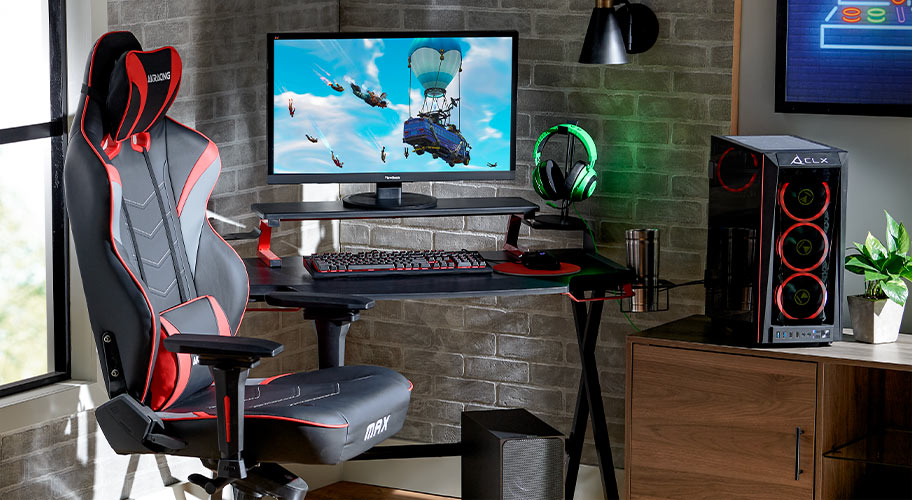 Space out. Set up your gaming station with the coolest gear, accessories, & more for less.