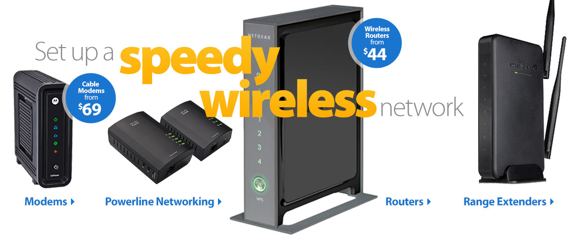 Set up a speedy wireless network