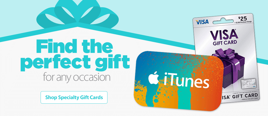 Shop Specialty Gift Cards