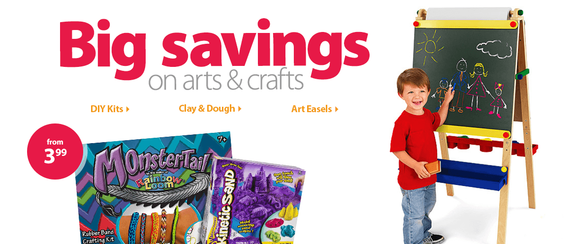 Pretend play arts crafts for kids for Walmart arts and crafts paint
