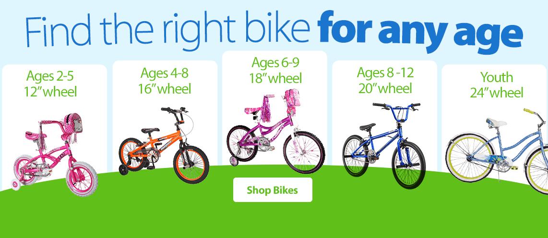 Walmart Boys Toys Age 6 : Kids bikes