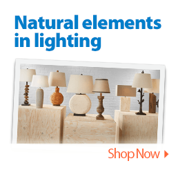 Natural elements in lighting