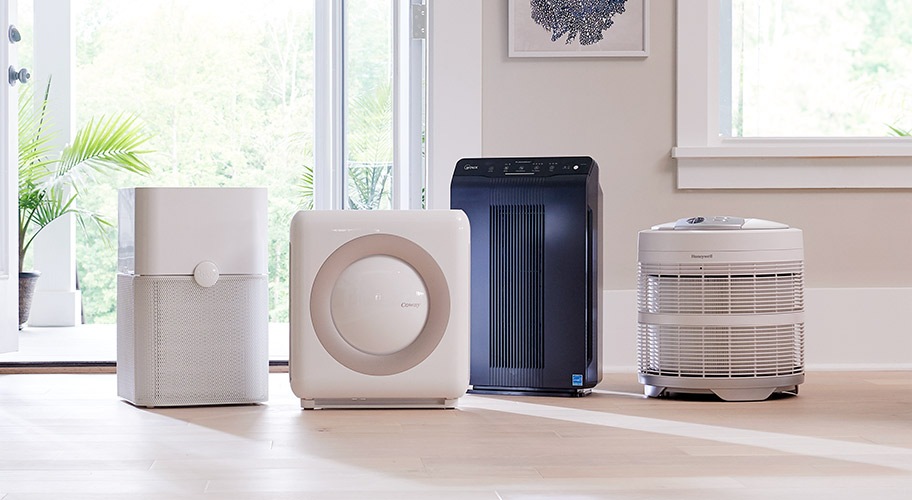 Air purifiers quickly, efficiently, & effectively remove airborne particulates & allergens such as pollen, dust, pet dander, & smoke—leaving your indoor environment clean, clear, & livable.