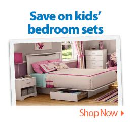 Save on kids' bedroom sets.