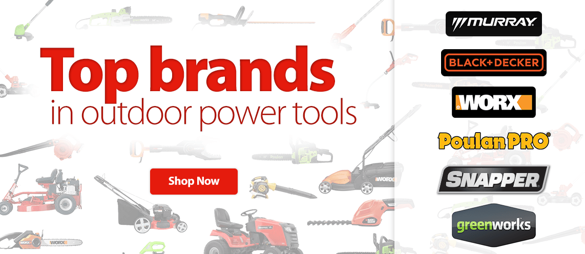 Outdoor power equipment for Best garden tools brand