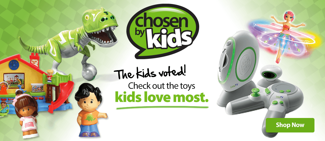 Chosen By Kids Toys