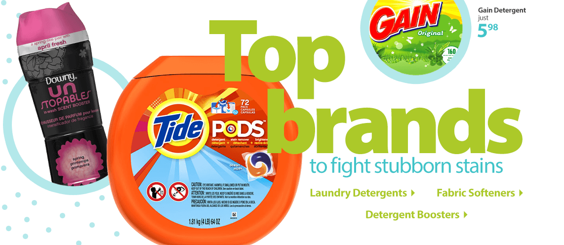 Top Brands to fight stubborn stains