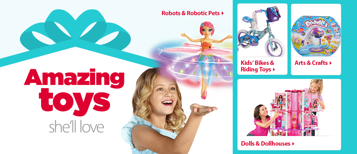 Toys At Walmart For Girls Age 9 : Walmart christmas toys for girls com