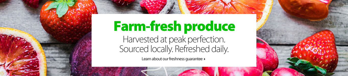 Farm-fresh produce
