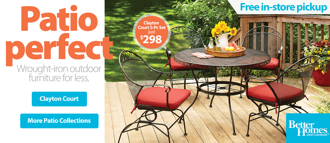 Walmart Online Shopping: Fresh new collections in patio and outdoor.