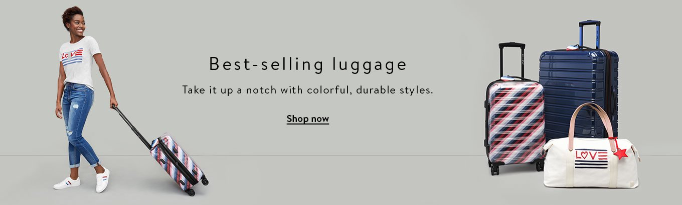 Best-selling luggage. Take it up a notch with colorful, durable styles. Shop now.