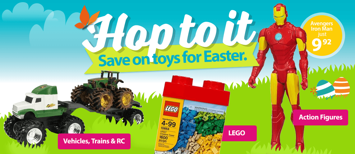 Walmart Toys For Boys : Easter boys toys