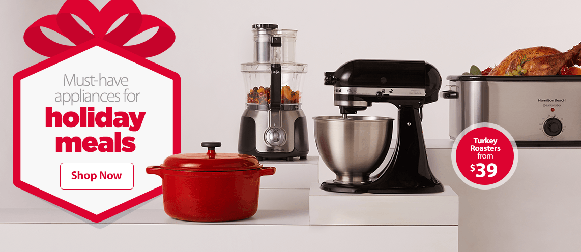 Must have appliances for holiday meals.