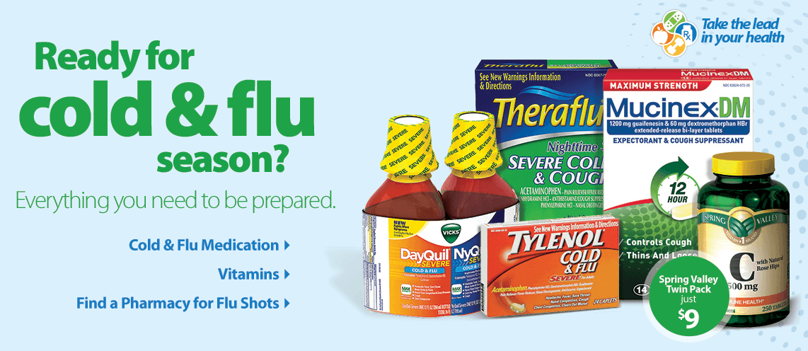 Shop Cold, Cough & Flu Essentials