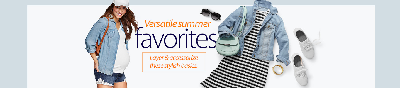Versatile summer favorites