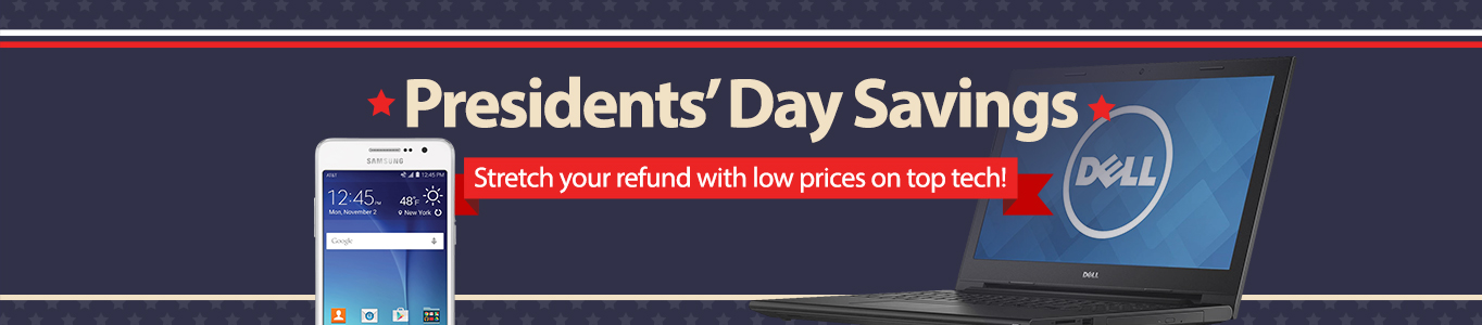 President's Day Savings on Electronics.