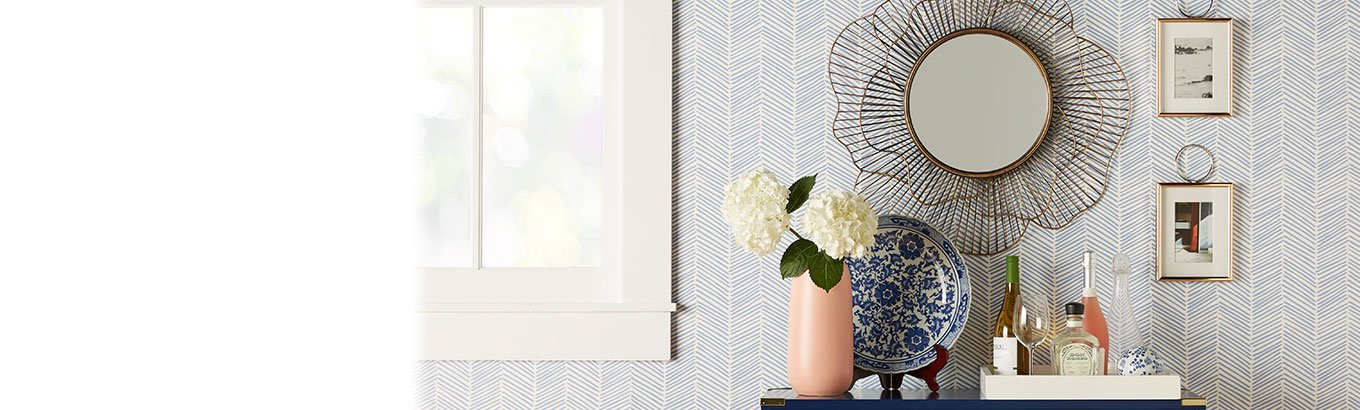 Springtime charm. Home decor trends. Shop floral decor and modern classic styles.
