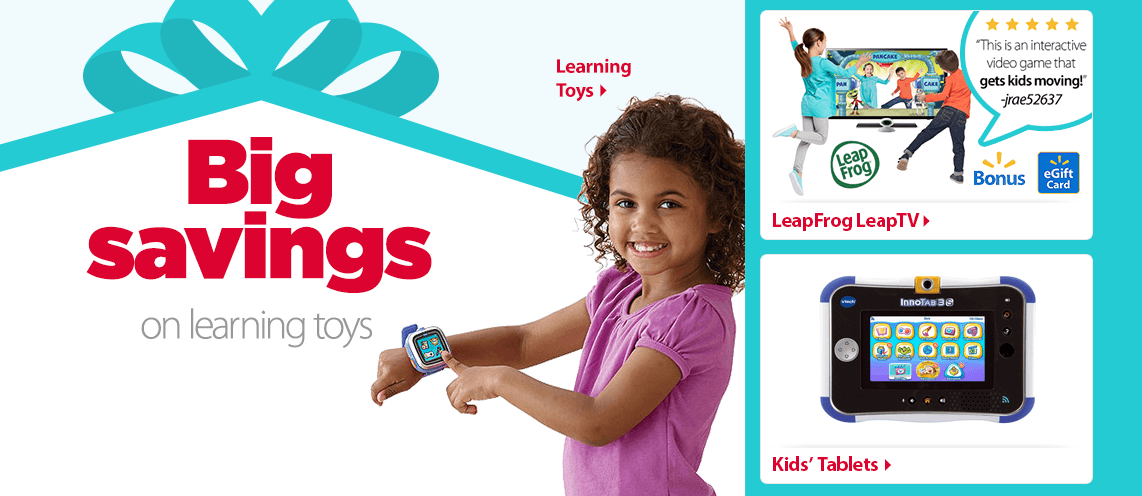 Big savings on learning toys