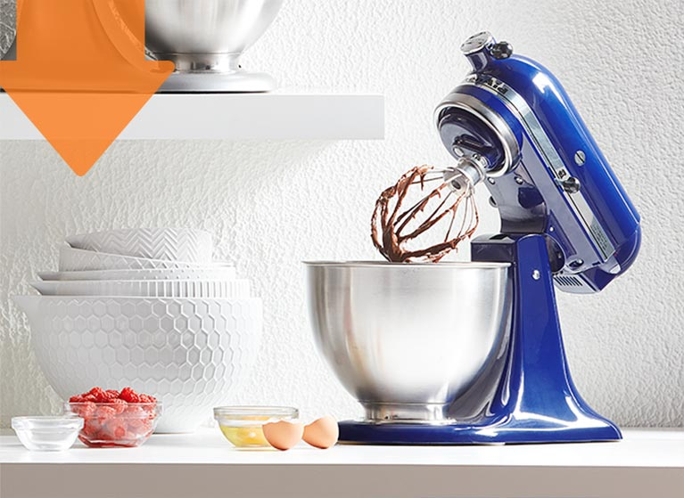 Kitchen & dining. Cook like a pro with up to 50% off appliances & tools.