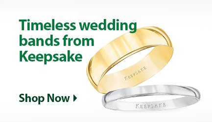 Keepsake wedding bands