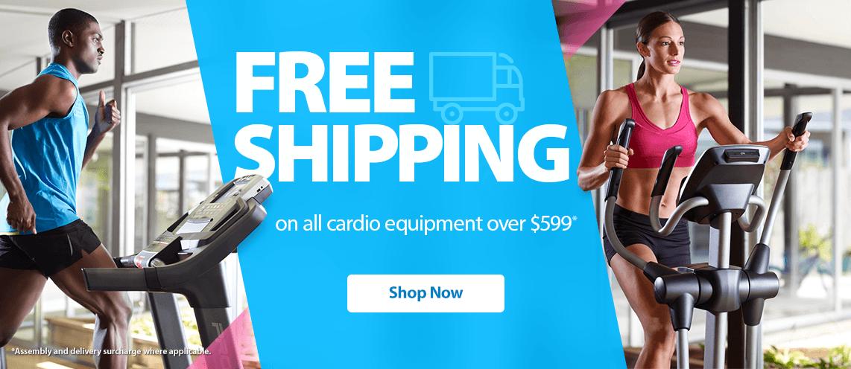 Free Shipping on Cardio $599+