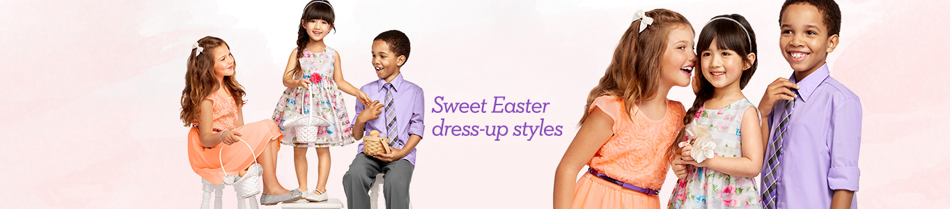 Sweet Easter dress-up styles
