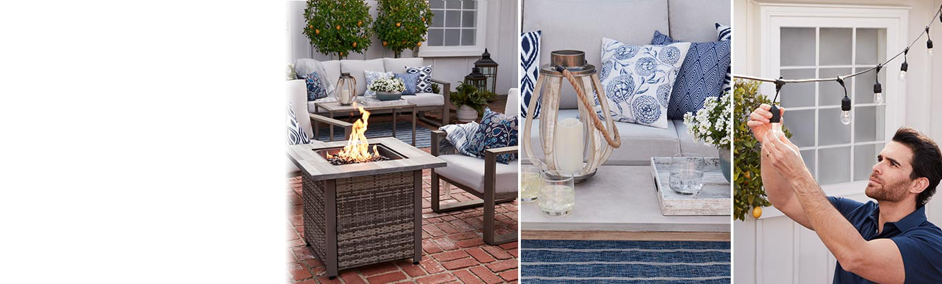 Before to after—fast. Tackle your outdoor projects quickly and affordably. Shop now.