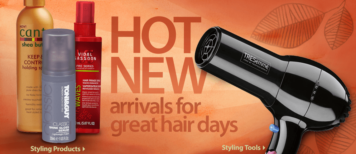 Hot New Arrivals for great hair days