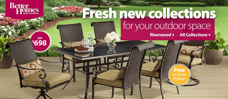 Patio outdoor furniture - Walmart lawn and garden furniture ...