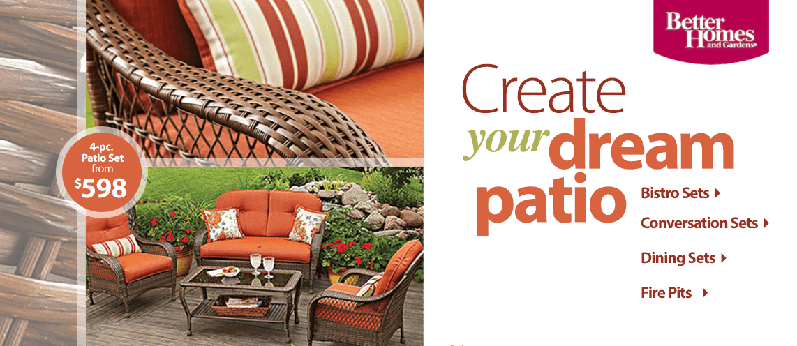 Create your dream patio.