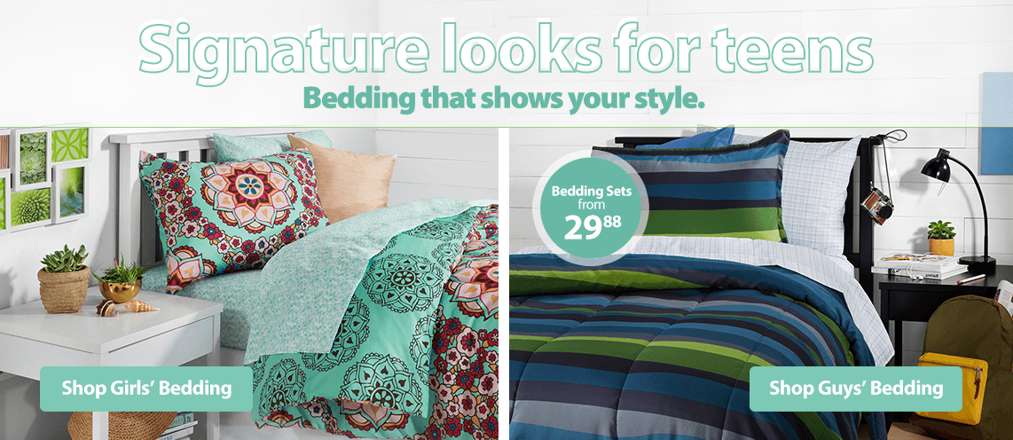 Signature Looks For Teens Bedding That Shows Your Style