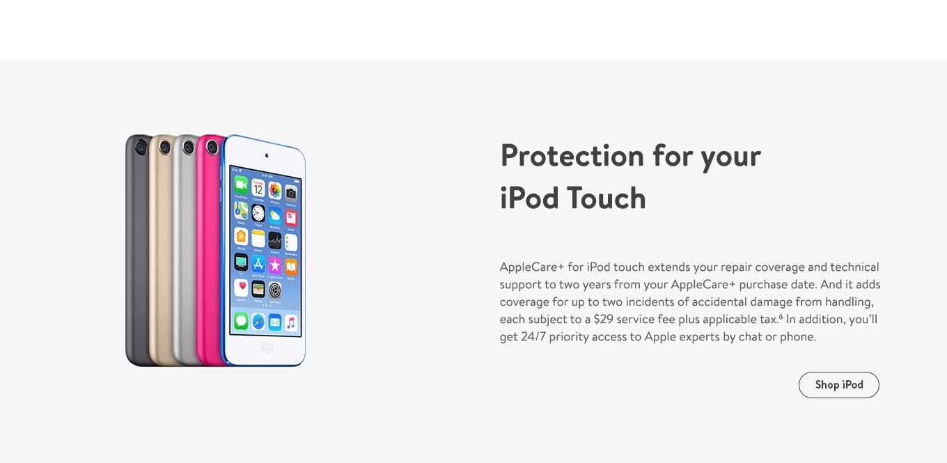 Protection for your iPod Touch
