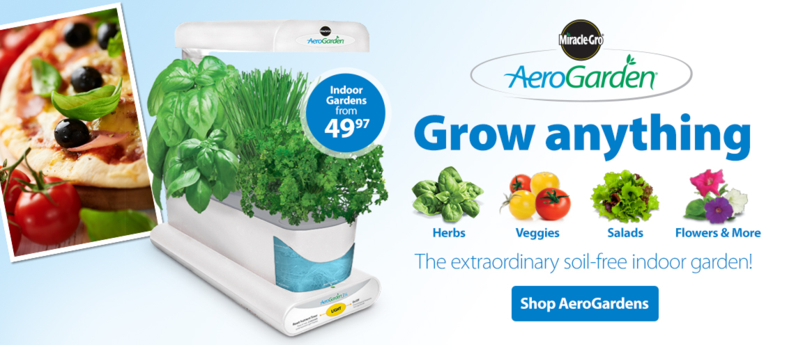 Grow anything- The extraordinary soil-free indoor garden!