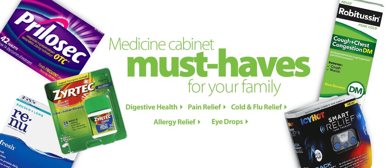 Restock your Medicine Cabinet