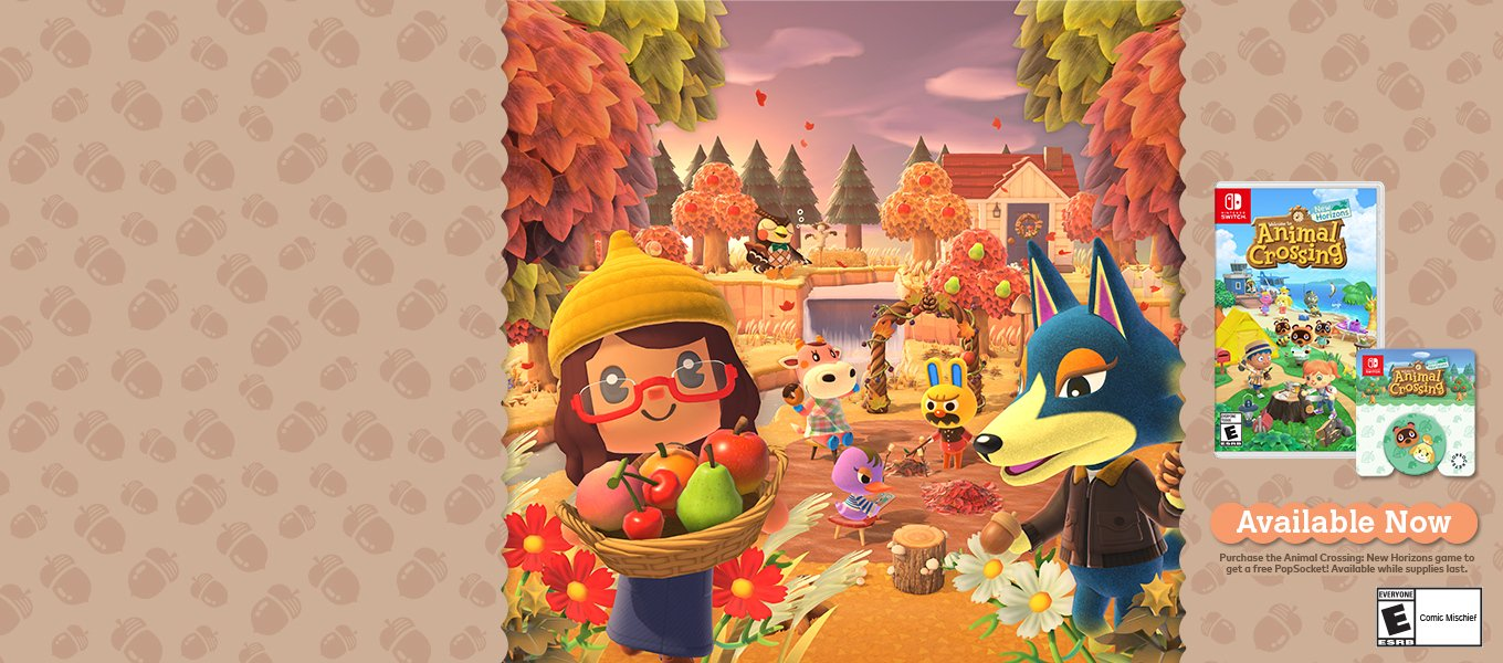 Animal Crossing. Includes Gift with Purchase.