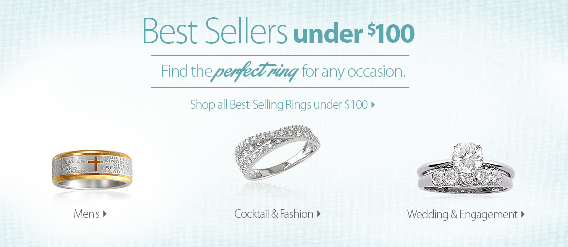 Best Selling Rings Under $100