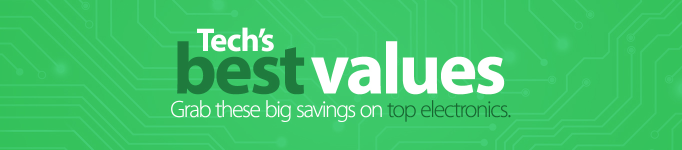 Grab these big savings on top electronics.