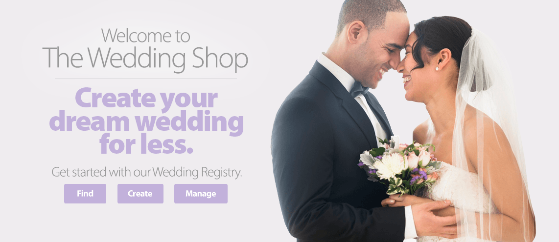 Welcome to the Wedding Shop
