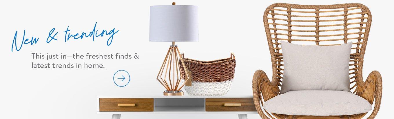 Shop New & Trending in Home