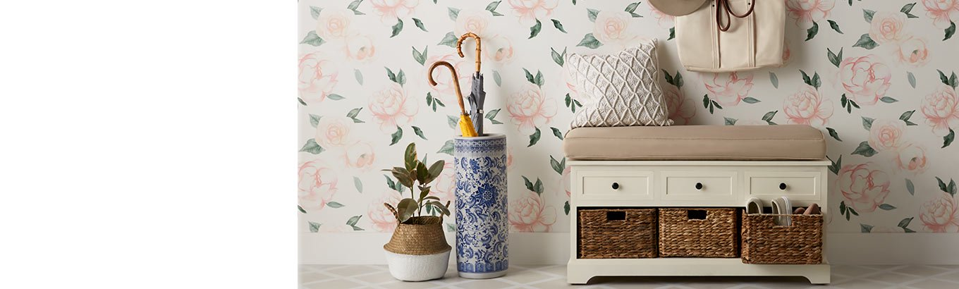 Gorgeous storage. Shop stylish, on-trend options for order in the house.