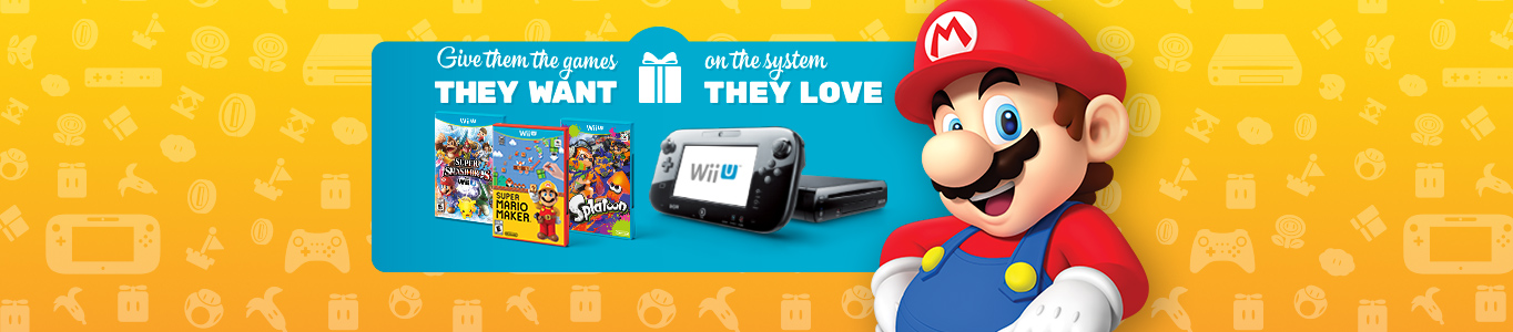 Wii U consoles and games