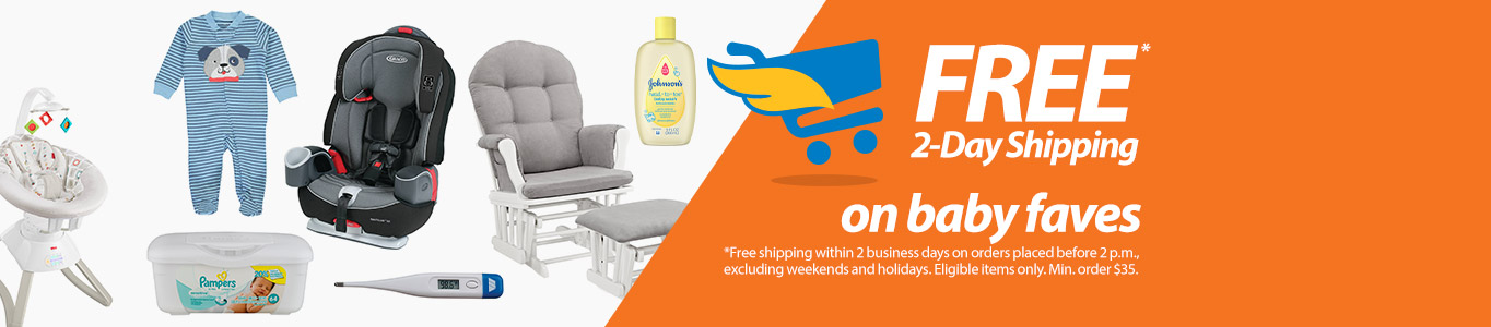 Free 2 Day Shipping On Baby Faves Within Business Diaper Promo