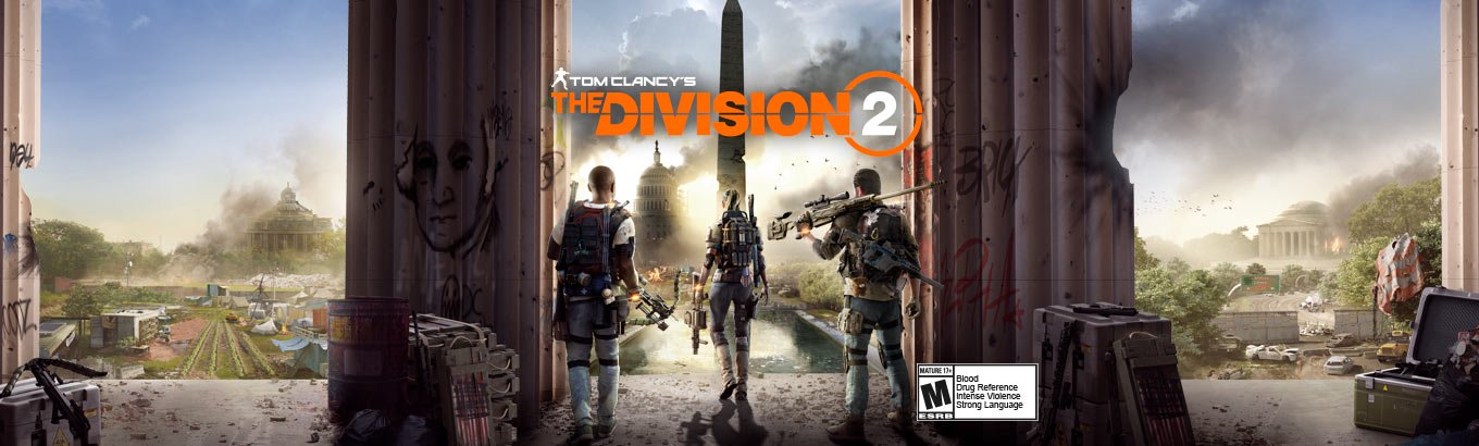 The Division 2. Agents, gear up. Save Washington D.C. Save the nation.