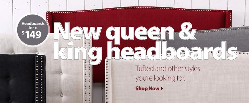 New queen & king headboards