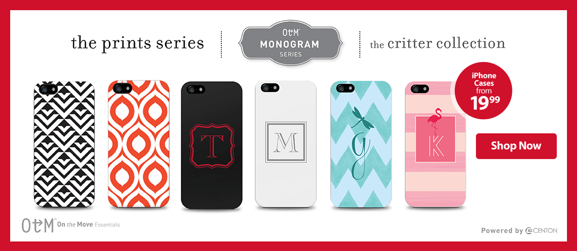 OTG Monogram Series